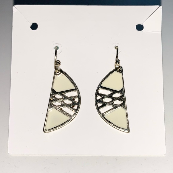 3 pairs of dangly earrings